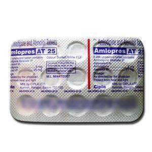 Amlopres AT 25 mg Tablet