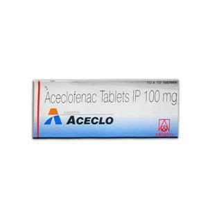 Aceclo 100 mg Tablet