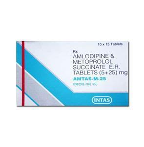 Amtas M 25 mg Tablet