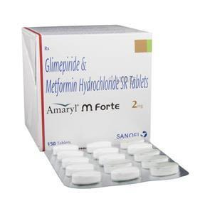 Amaryl M Forte 2 mg Tablet