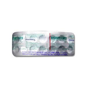 A Card 50 mg Tablet