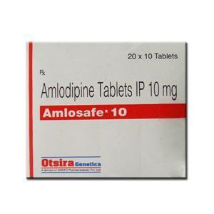 Amlosafe 10 mg Tablet