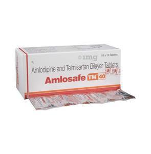 Amlosafe TM 40 mg Tablet