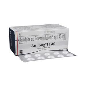 Amlong TL 40 mg Tablet