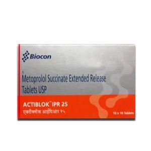 Actiblok Ipr 25 mg Tablet