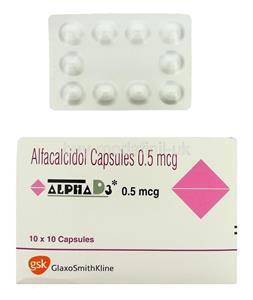 Alpha D3 0.5 mcg Tablet