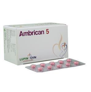 Ambrican 5 mg Tablet