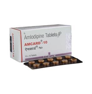 Amcard 10 mg Tablet