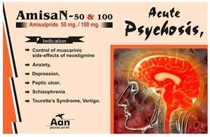 Amisant 100 mg Tablet
