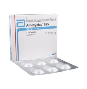 Amoxy Clav 625 mg Tablet