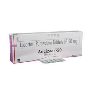Angizaar 50 mg Tablet