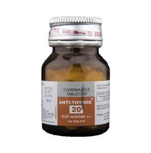 Anti Thyrox 20 mg container