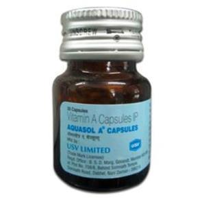 Aquasol A (Vitamin A) container