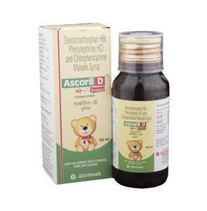 Ascoril D Junior Syrup 60 ml
