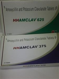 Hhamclav 375 mg Tablet