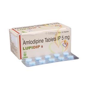 Lupidip 5 mg Tablet