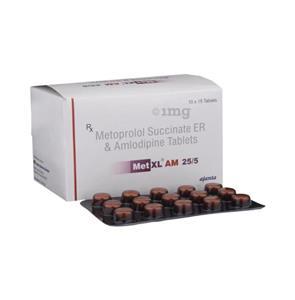 Met XL AM 50 mg Tablet