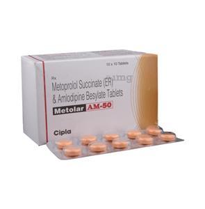 Metolar AM 50 mg Tablet