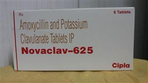 Novaclav 625 mg Tablet