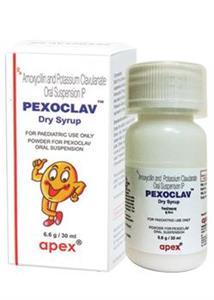 Pexoclav Dry Syrup 30 ml