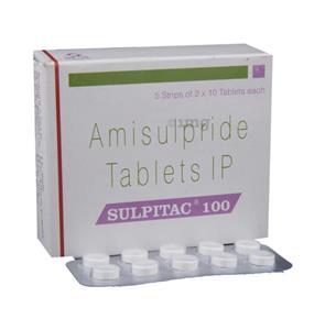 Sulpitac 100 mg Tablet