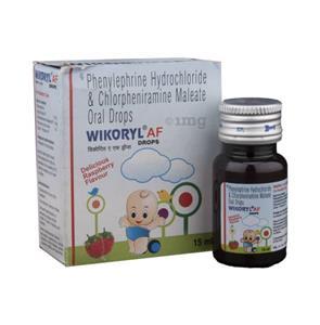 Wikoryl AF Syrup 60 ml