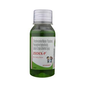 Zedex P Syrup 60 ml