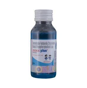 Zedex Plus Syrup 60 ml