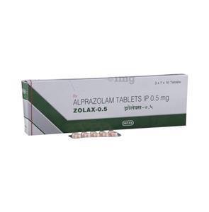 Zolax 0.5 mg Capsule