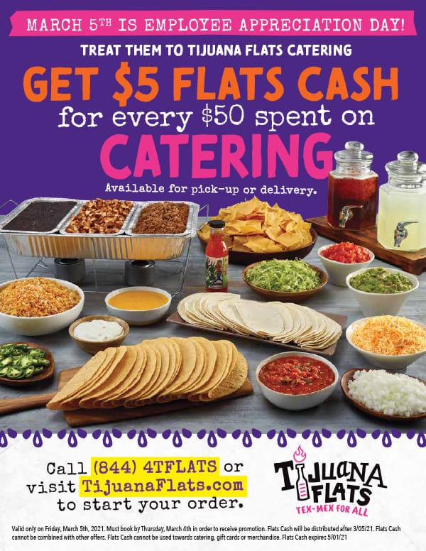 Tijuana Flats Coupon