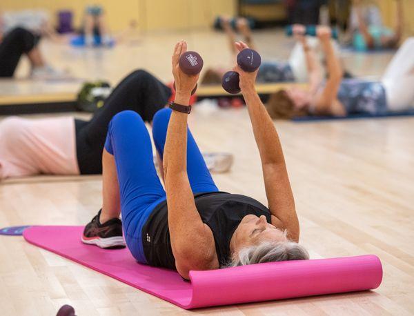 Strength Stretch fitness class PMRC