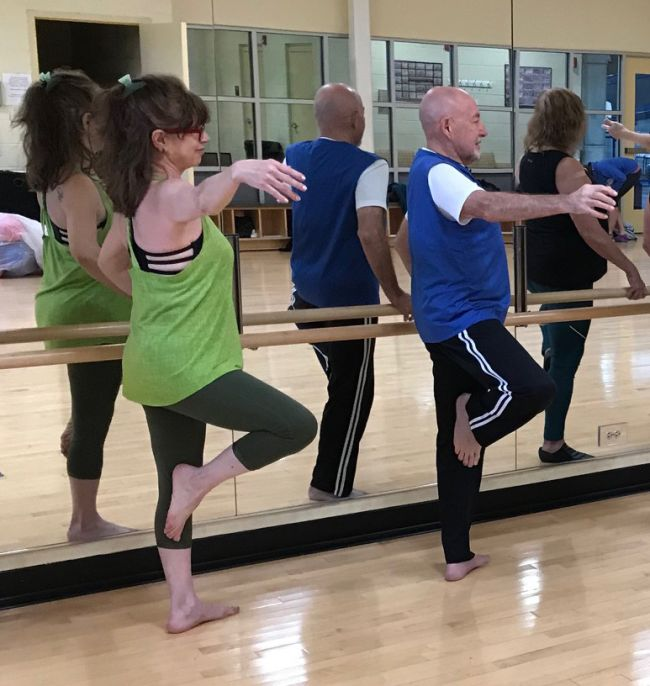 barre fitness class PMRC
