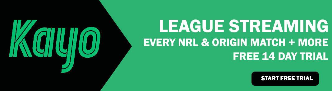 Kayo Sports NRL Live Streaming