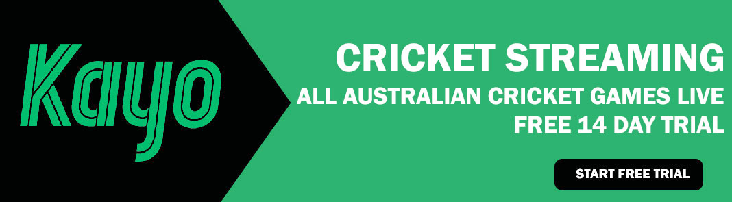 Kayo Sports Cricket Live Streaming