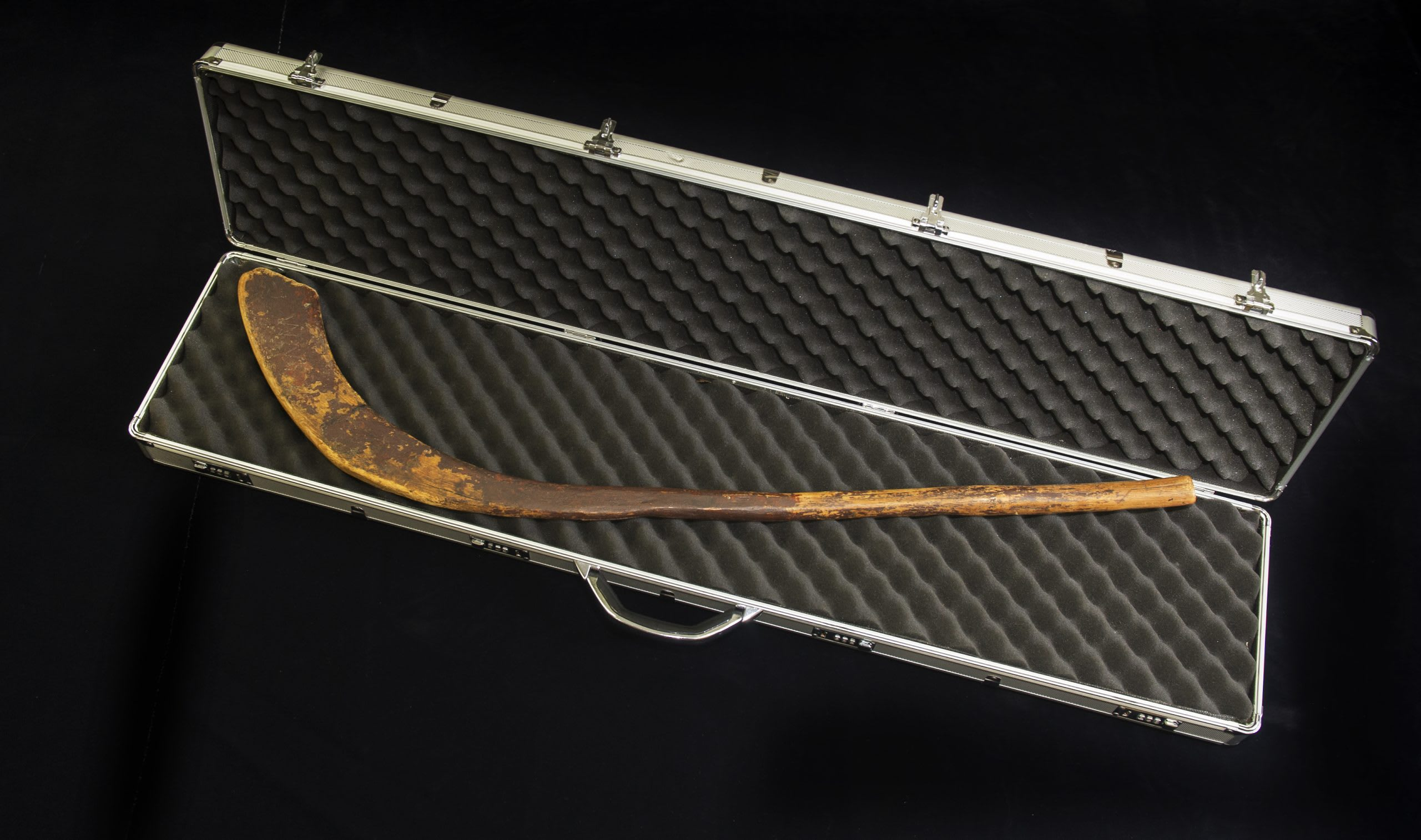 The Oldest Hockey Stick in the World