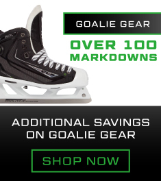 Extra 10% Off Clearance Goalie