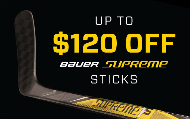 Up to $120 Off Supreme Sticks