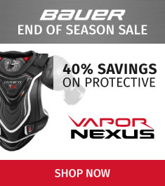 Bauer Vapor & Nexus Protective Sale! Savings up to 40% Off