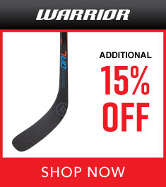 Extra 15% Off Warrior Clearance