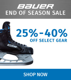 Bauer End Of Season Sale 25%-40% Savings
