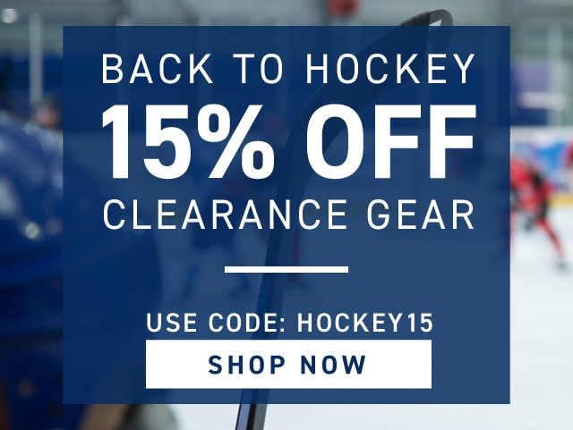Backt To Hockey Savings Event
