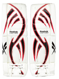 hockey goalie leg pads for reaction style
