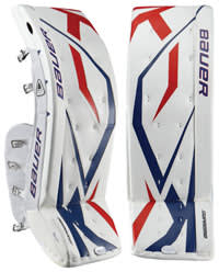 hockey goalie leg pads for blocking style