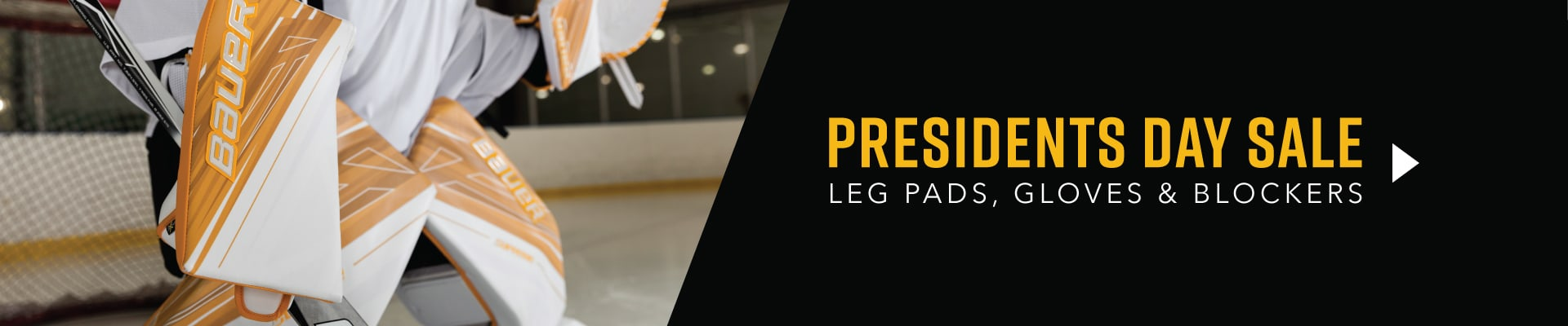 Presidents Day Sale - Leg Pads, Gloves, and  Blockers