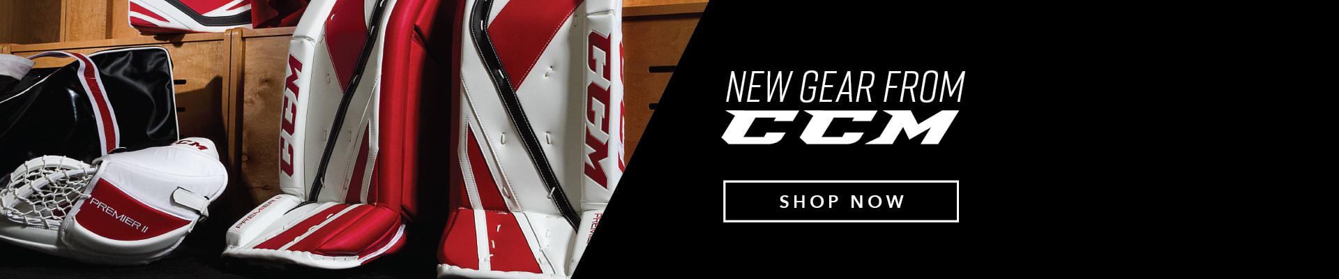 New Goalie Equipment From CCM