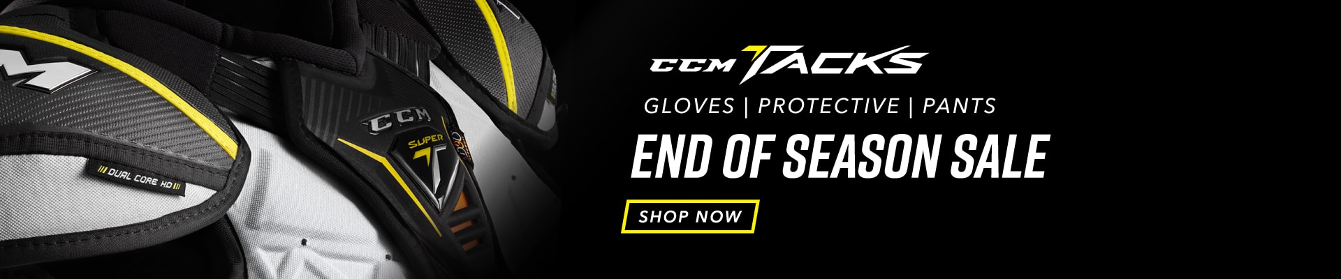CCM Tacks Protective Sale