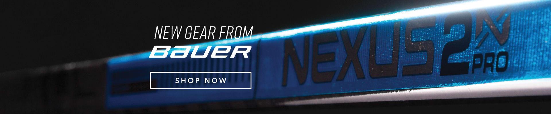 New Bauer Hockey Equipment