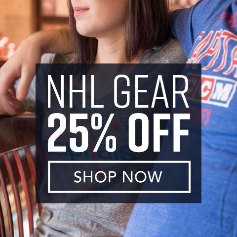 NHL Team Shop - Extra 25% Off