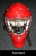 standard hockey goalie mask