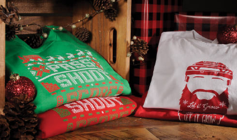 Shop Holiday Apparel